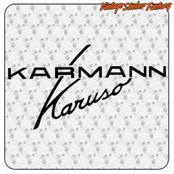 Autocollant Karmann Karuso
