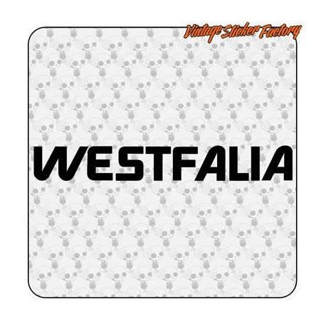 Aufkleber westfalia t3