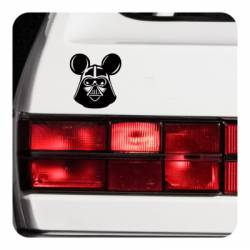 Sticker Darth Vader Mickey Mouse