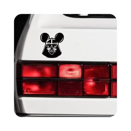 Adesivo Darth Vader Mickey Mouse