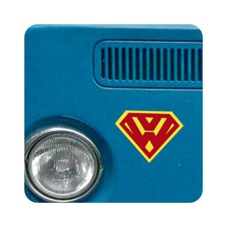 Autocollant Super VW
