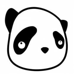 PANDA Aufkleber