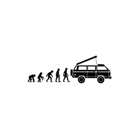 Sticker evolucion syncro westfalia