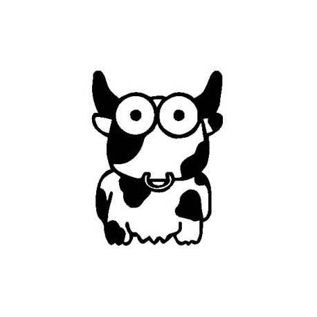 Sticker vaca