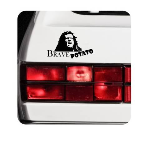 Autocollant Brave Potato