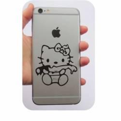 Sticker Kitty Zombie
