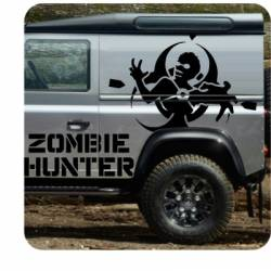 Sticker Zombie Hunter