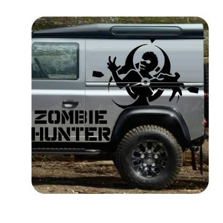 Adesivo Zombie Hunter