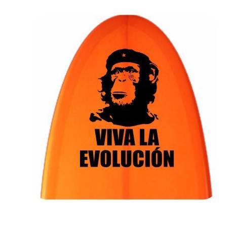 Autocollant Viva la evolucion