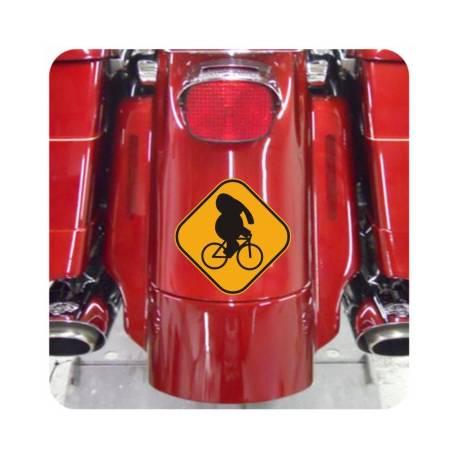 Autocollant Caution