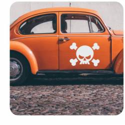 Sticker calavera