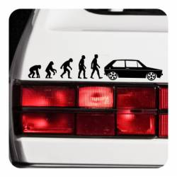 Sticker evolucion golf mk1