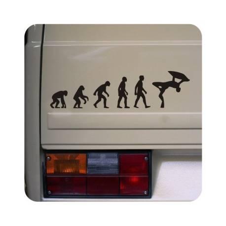 Autocollant evolucion bodyboard