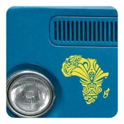 Sticker africa tribal