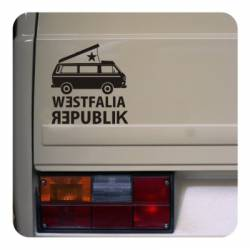 Sticker westfalia republik