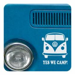 YES WE CAMP Aufkleber