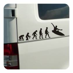Sticker evolucion surf
