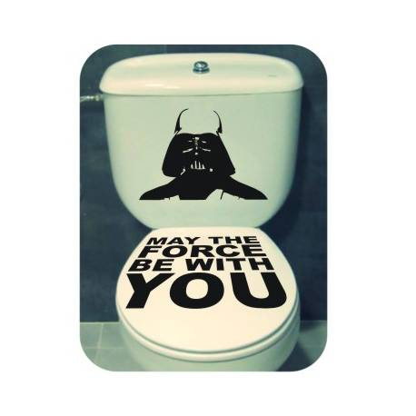 Sticker Darth Water English