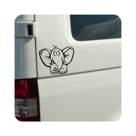 Sticker elefante