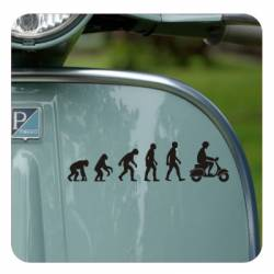Sticker evolucion vespa