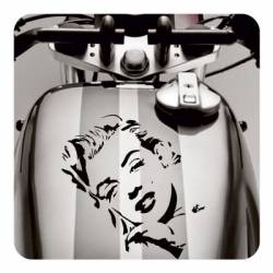 MARYLIN PIN UP Aufkleber
