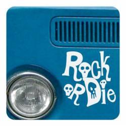 Adesivo rock or die