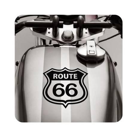 Autocollant ruta 66