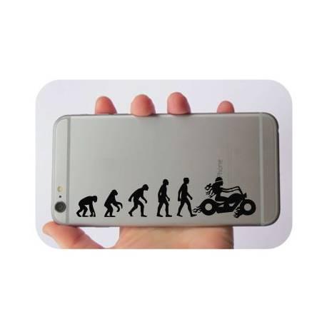 Sticker evolucion motera