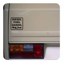 Sticker diesel internacional