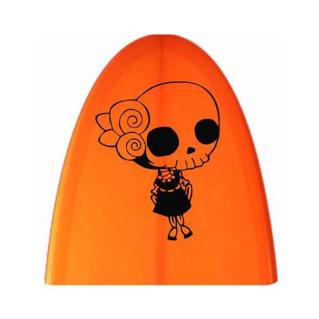 Sticker calavera mexicana