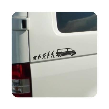 Autocollant evolucion t4