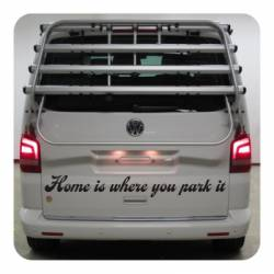Sticker home is where you park it