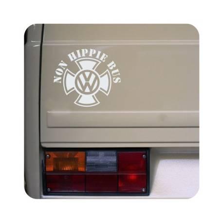 Sticker non hippie bus malta