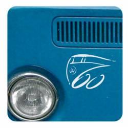 Sticker 60 aniversario transporter