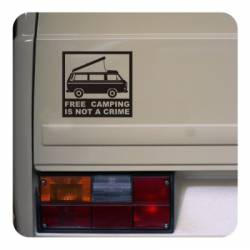 Sticker freecamping t3 westfalia