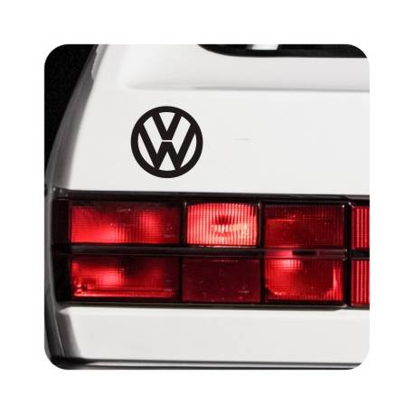 Sticker vw logo
