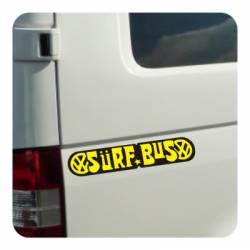 Autocollant surf bus