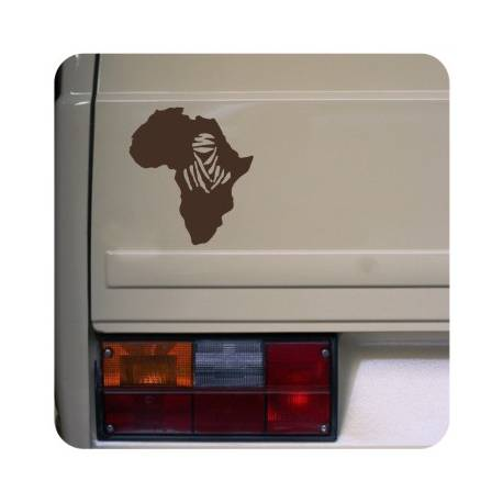 Autocollant africa dakar