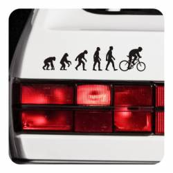 Sticker evolucion bici