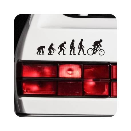 Adesivo evolucion bici
