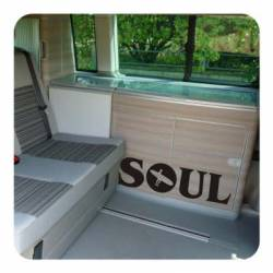 Sticker soul surf