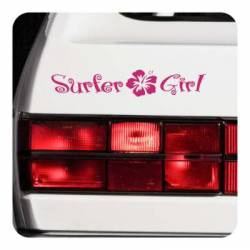SURFER GIRL Aufkleber