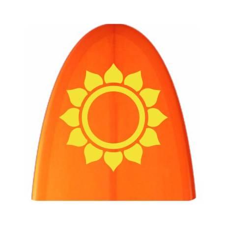 Sticker sol tribal