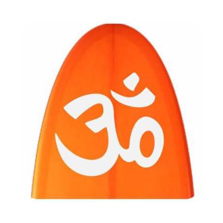 Sticker om meditacion