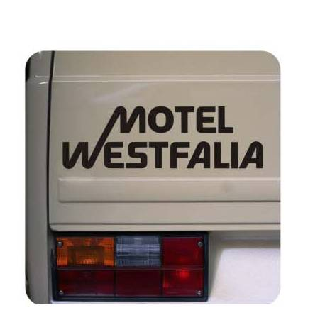 Sticker motel westfalia