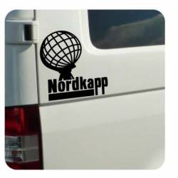Sticker nordkapp