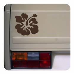 Sticker Flor Hawaiana Hibiscus