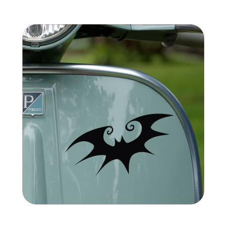 Sticker murcielago tim burton