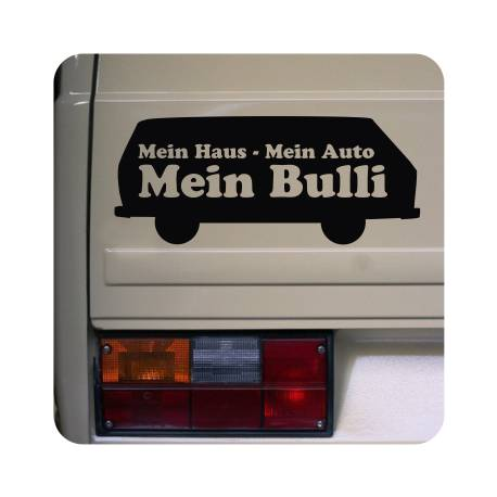 Sticker mein bulli