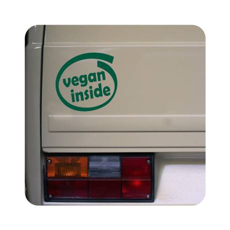 Sticker vegan